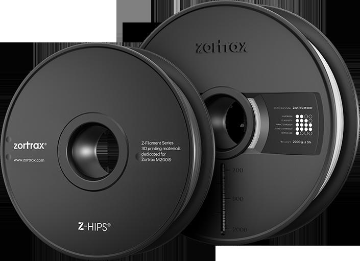 zortrax z-hips filament