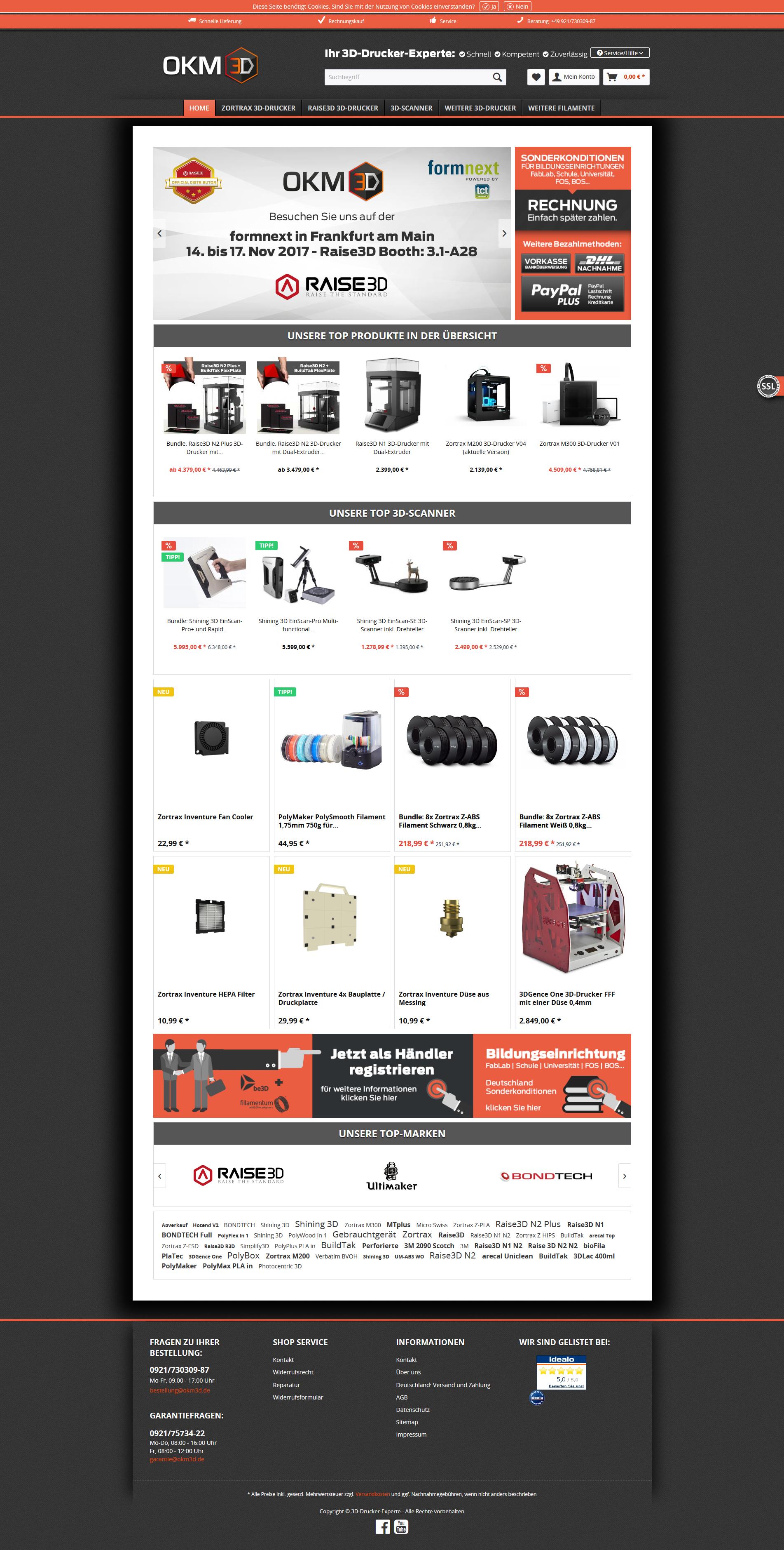 3d drucker experte online shop