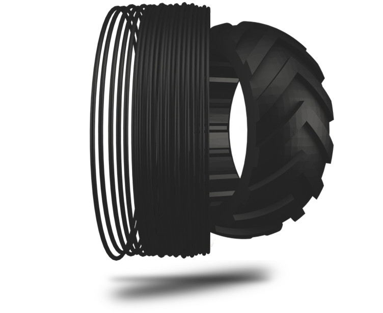 TreeD Flexmarkt flexibles TPU Filament