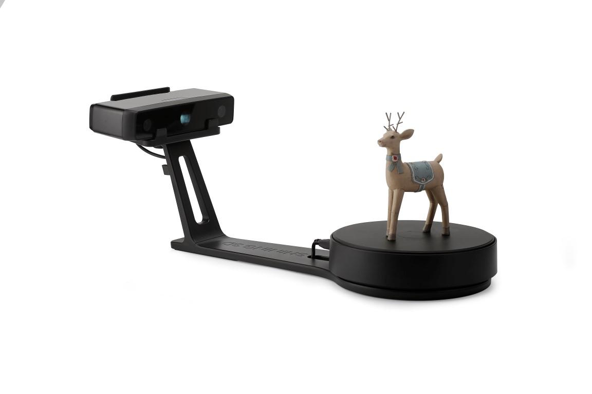 EinScan-SE 3d-scanner seitenansicht