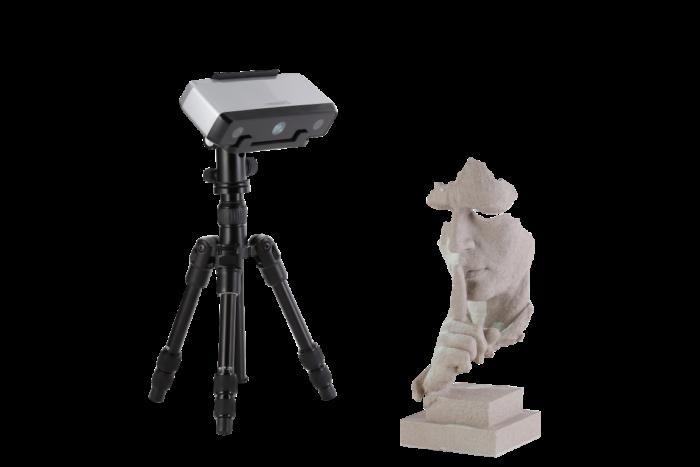 EinScan-SP skulptur scan