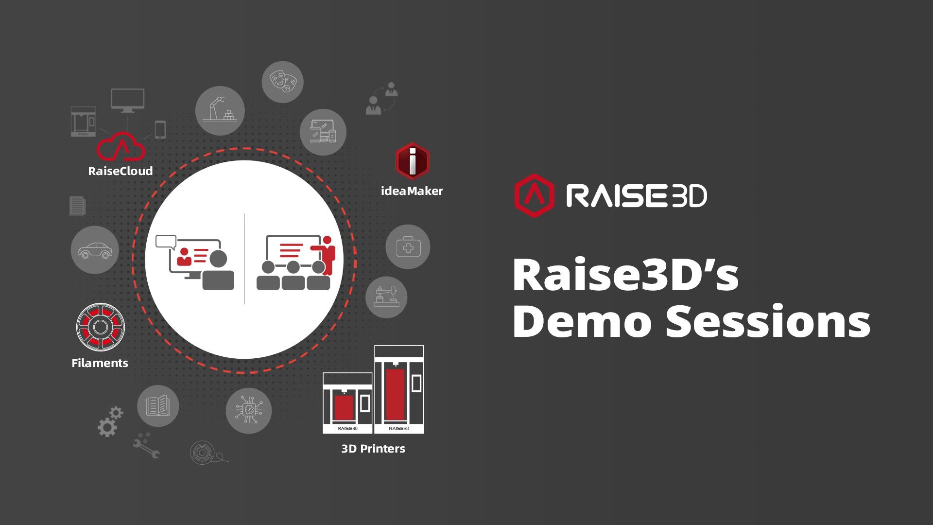 Raise3D's-Demo-Sessions