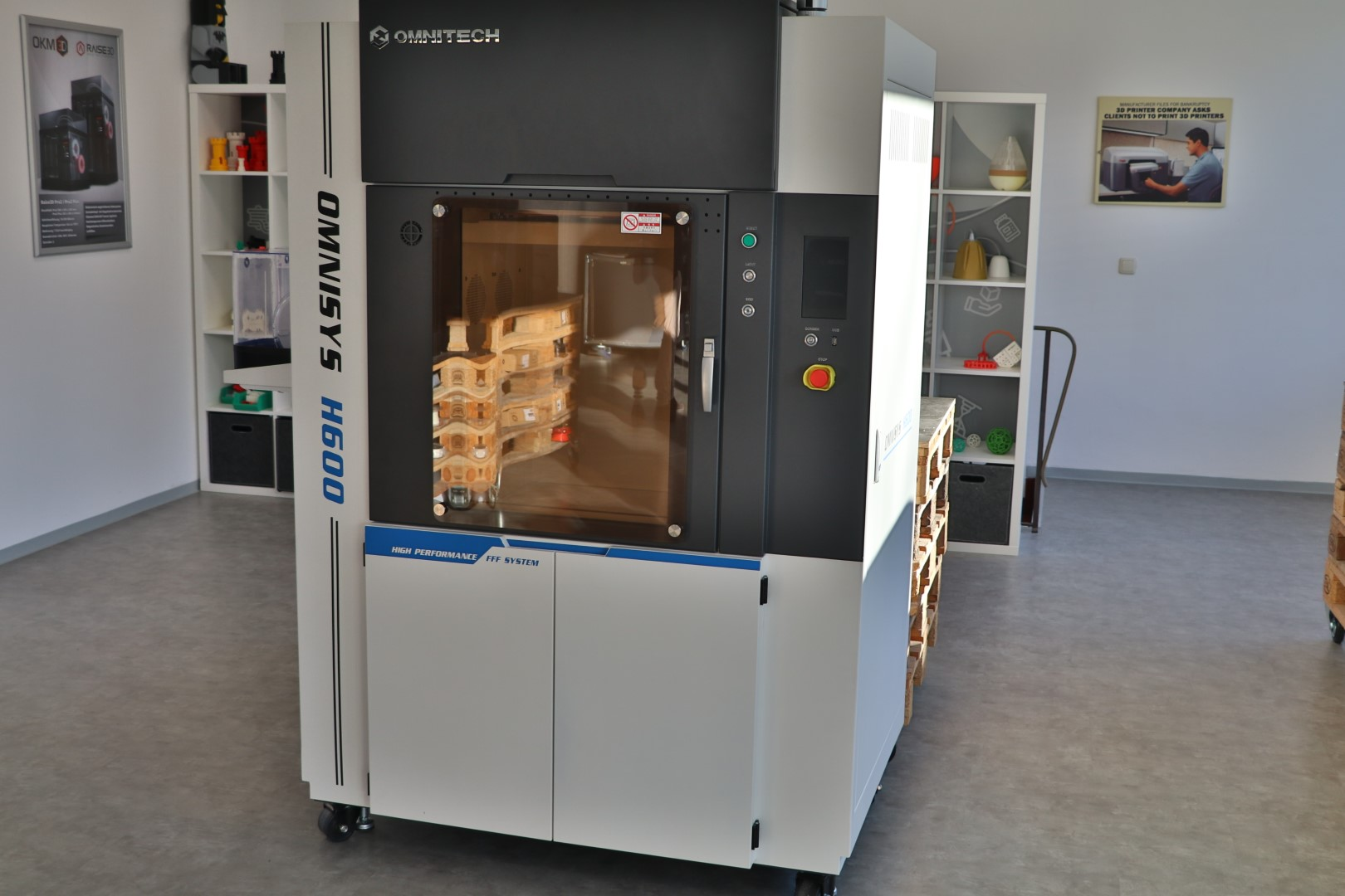 OKM3D Mistelbach Germany 3D Drucker Demoraum