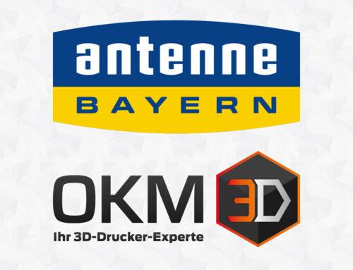 OKM3D im Kurzinterview auf Antenne Bayern