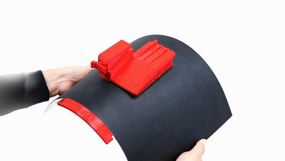 Raise3D E2 Flexible Bauplatte