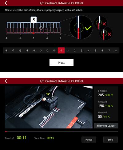Raise3D 3D-Drucker Videogestützte Kalibration